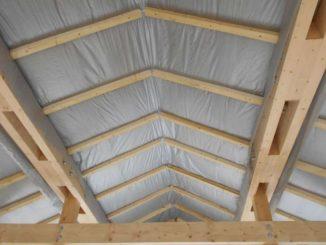 Стеклохолст для крыши