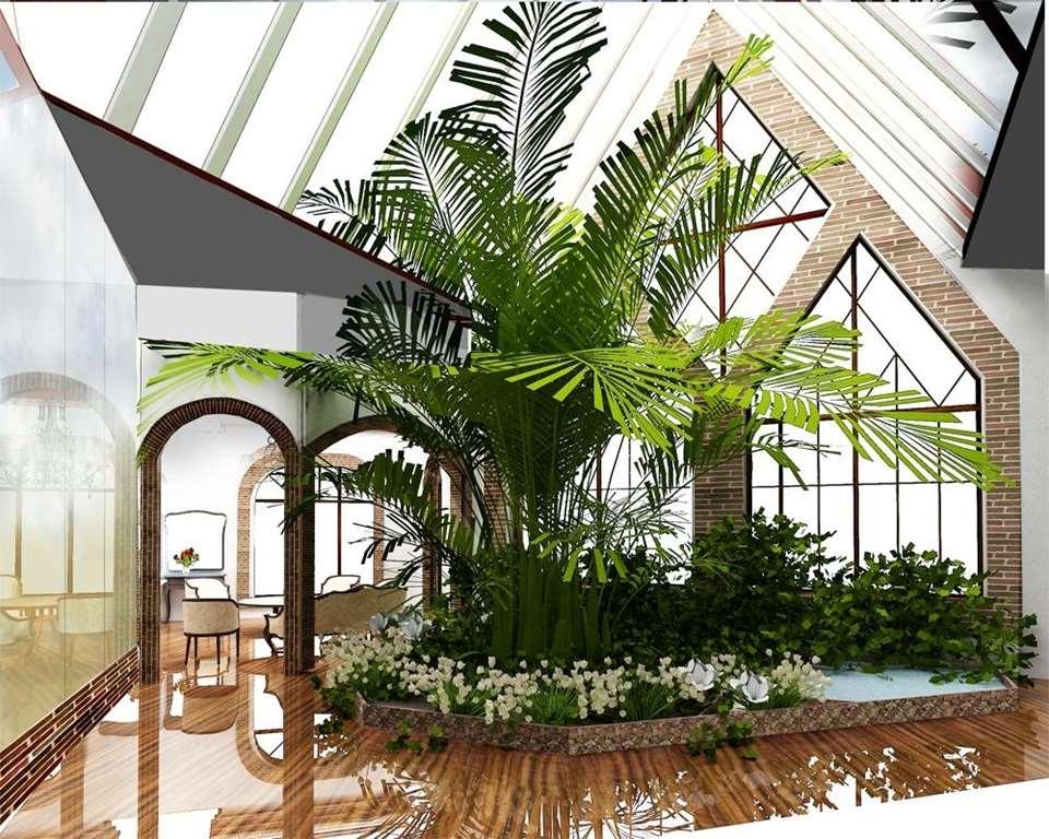 Зимний сад или закрытая веранда к дому