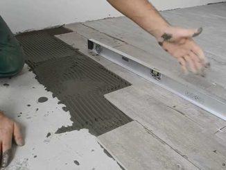 Как укладывается плитка